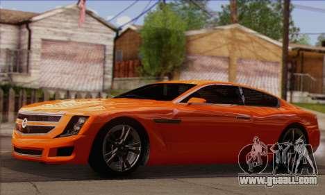 Alpha - DLC Business GTA V for GTA San Andreas