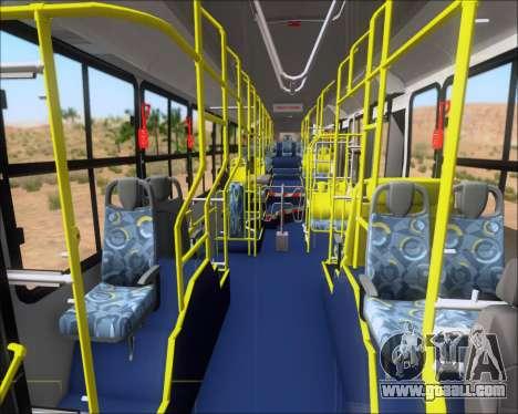 Caio Induscar Millennium BRT Viacao Gato Preto for GTA San Andreas bottom view