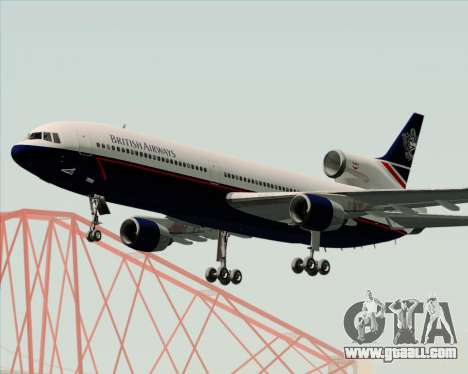 Lockheed L-1011 TriStar British Airways for GTA San Andreas