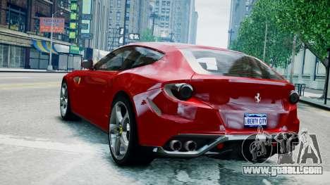 Ferrari FF for GTA 4 left view