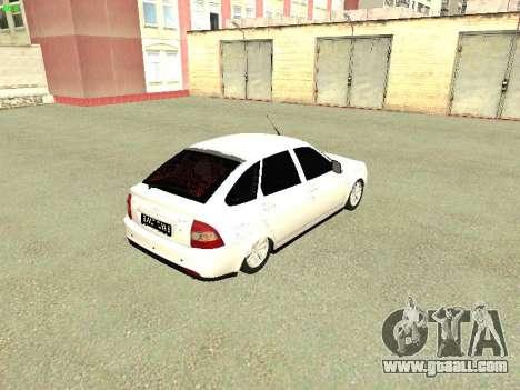 Lada 2172 Priora for GTA San Andreas right view