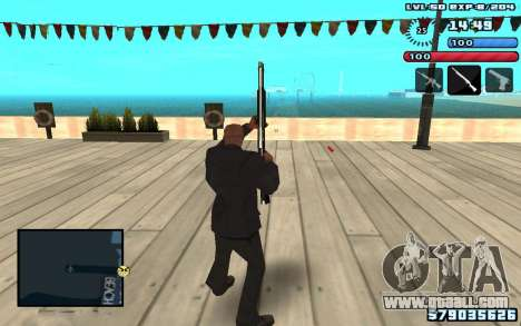 C-HUD by SampHack v10 for GTA San Andreas second screenshot