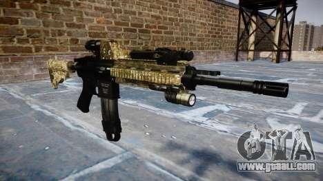 Automatic rifle Colt M4A1 devgru for GTA 4