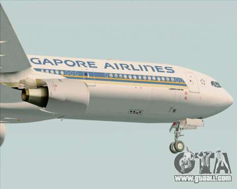 Airbus A330-300 Singapore Airlines for GTA San Andreas