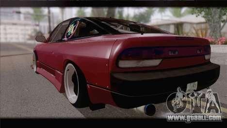 Nissan Silvia 240sx Ryan Tuerck for GTA San Andreas left view