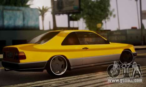 Mercedes-Benz C124 for GTA San Andreas left view