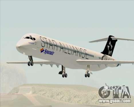 McDonnell Douglas MD-82 Spanair for GTA San Andreas