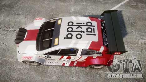 Zenden Cup Dalilfodda for GTA 4 right view