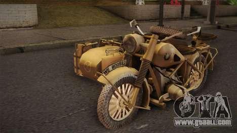BMW R75 Desert from Forgotten Hope 2 for GTA San Andreas