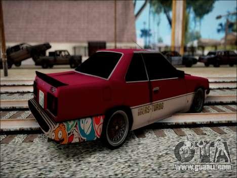 Nissan Skyline GT-R R30 for GTA San Andreas left view