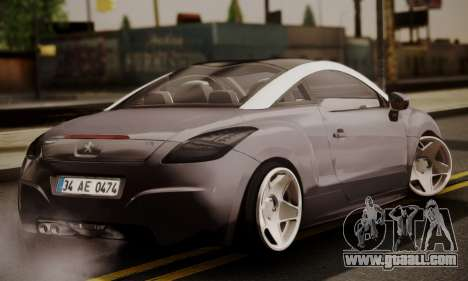 Peugeot RCZ for GTA San Andreas left view