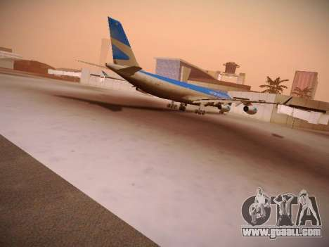 Airbus A340-300 Aerolineas Argentinas for GTA San Andreas inner view