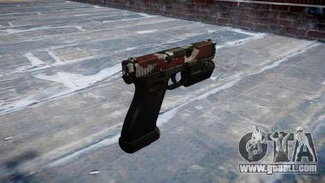 Pistol Glock 20 are bloodshot for GTA 4 second screenshot