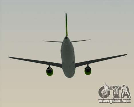 Airbus A320-200 Air Australia for GTA San Andreas upper view