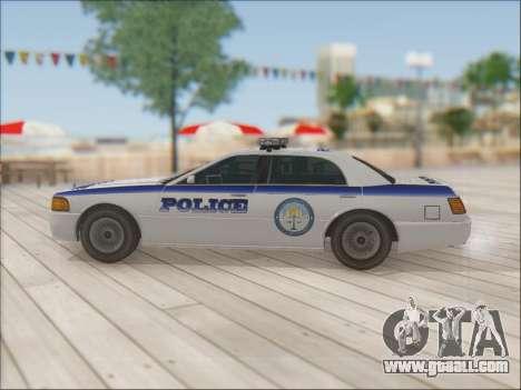 Admiral Police for GTA San Andreas interior