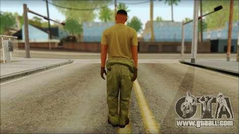 GTA 5 Soldier v2 for GTA San Andreas second screenshot