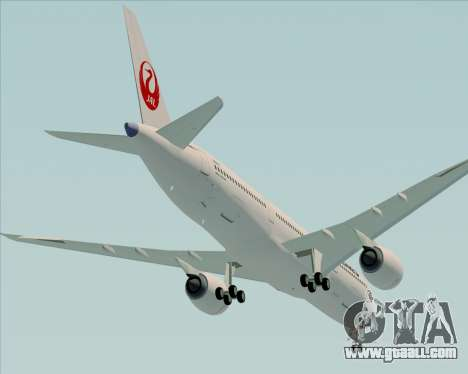Airbus A350-941 Japan Airlines for GTA San Andreas engine