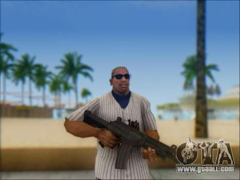 Israeli carbine ACE 21 for GTA San Andreas ninth screenshot