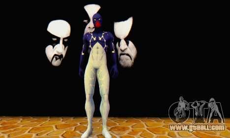 Skin The Amazing Spider Man 2 - Suit Cosmic for GTA San Andreas third screenshot