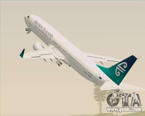 Boeing 737-800 Air New Zealand for GTA San Andreas wheels