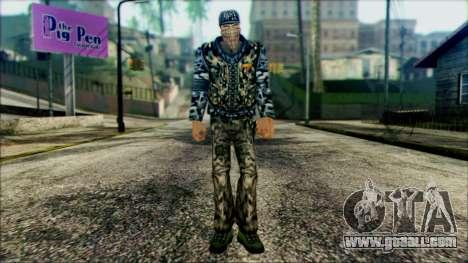 Manhunt Ped 21 for GTA San Andreas