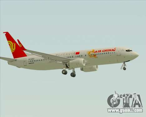 Boeing 737-89L Air China for GTA San Andreas back view