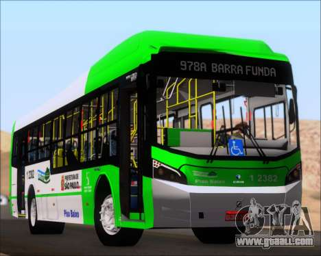 Caio Induscar Millennium BRT Viacao Gato Preto for GTA San Andreas engine