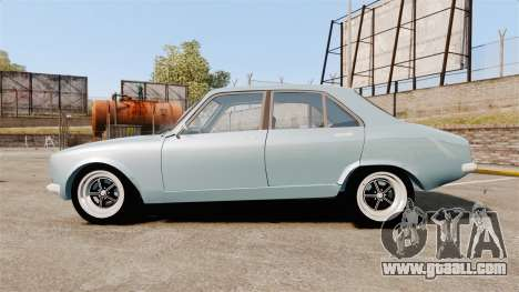 Peugeot 504 for GTA 4 left view