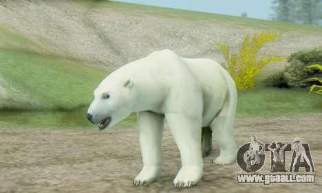 Polar Bear (Mammal) for GTA San Andreas