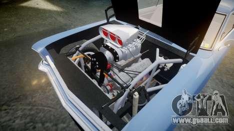 Chevrolet II Nova SS 1966 Custom [EPM] for GTA 4 inner view