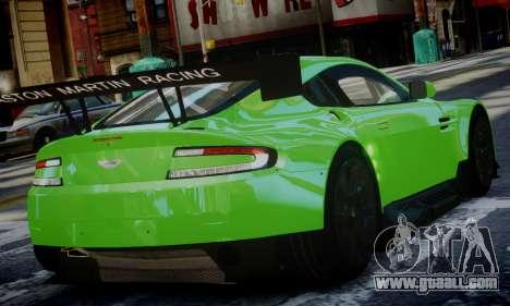 Aston Martin Vantage GTE for GTA 4 left view