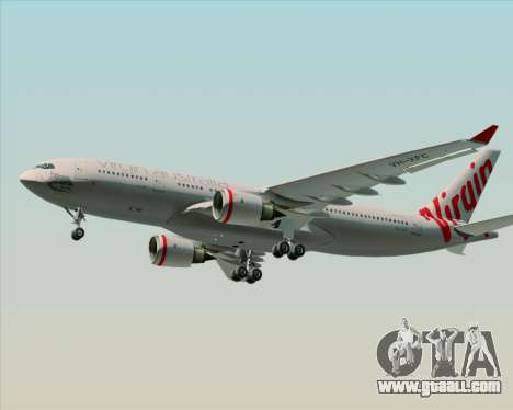Airbus A330-200 Virgin Australia for GTA San Andreas right view