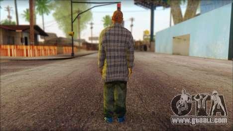 Los Aztecas Gang Skin v1 for GTA San Andreas second screenshot
