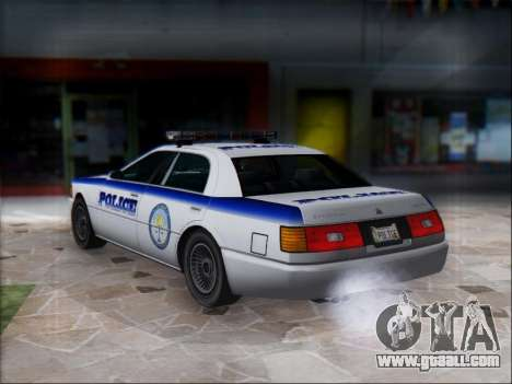 Admiral Police for GTA San Andreas right view