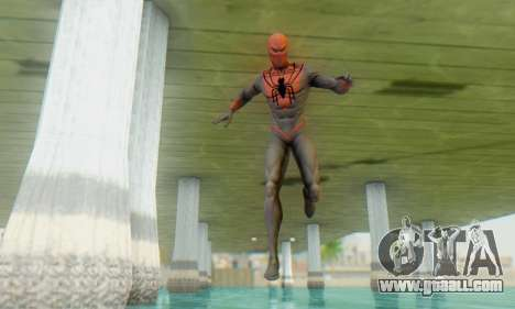 Skin The Amazing Spider Man 2 - Suit Assasin for GTA San Andreas third screenshot