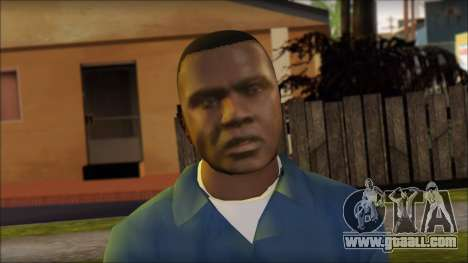 Franklin from GTA 5 for GTA San Andreas third screenshot