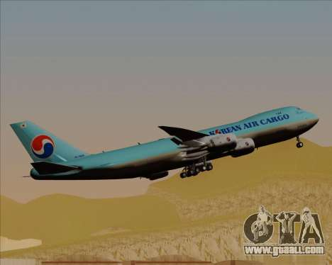Boeing 747-8 Cargo Korean Air Cargo for GTA San Andreas