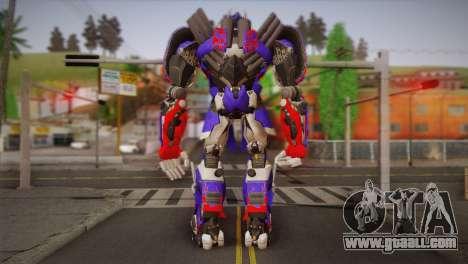 Optimus Prime for GTA San Andreas second screenshot