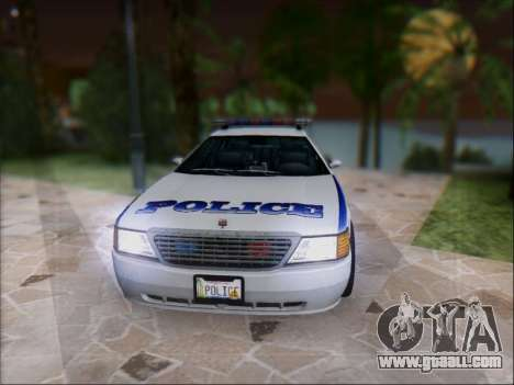 Admiral Police for GTA San Andreas left view