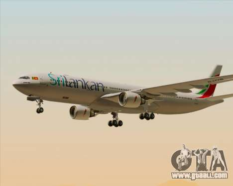 Airbus A330-300 SriLankan Airlines for GTA San Andreas engine