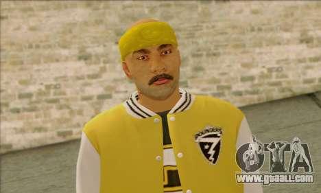 Vagos from GTA 5 Skin 3 for GTA San Andreas third screenshot