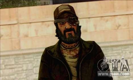 Kenny from The Walking Dead v3 for GTA San Andreas third screenshot