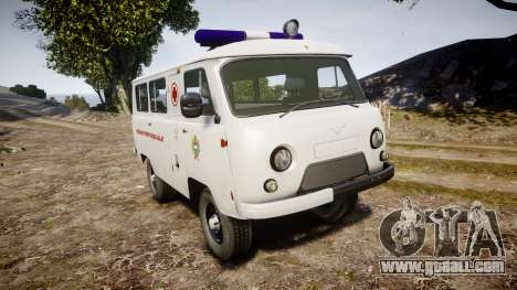 UAZ-39629 ambulance Hungary for GTA 4