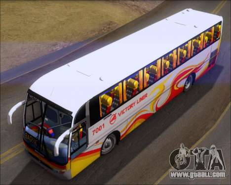 Marcopolo Victory Liner 7001 for GTA San Andreas back view