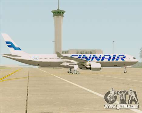 Airbus A330-300 Finnair (Current Livery) for GTA San Andreas inner view