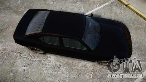 Bravado Buffalo FIB Modified for GTA 4 right view