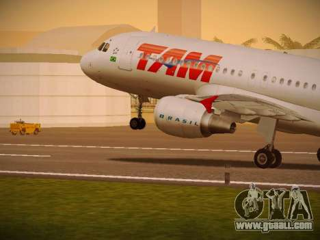 Airbus A320-214 TAM Airlines for GTA San Andreas