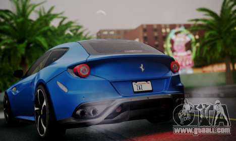 Ferrari FF 2012 for GTA San Andreas right view