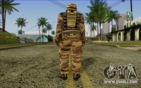Soldiers MEK (Battlefield 2) Skin 6 for GTA San Andreas second screenshot