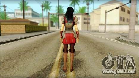 Lady Sif for GTA San Andreas second screenshot